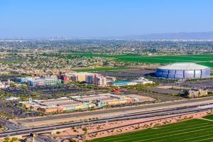Glendale Arizona, entertainment district, stadium, Phoenix AZ