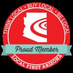 Proud Member Local First Arizona logo